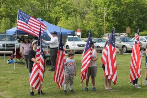 Flag Ceremony, Navy Club, USS Carbon County Ship 260, No. 9 Mine and Museum, Lansford, 5-25-2014 (68)