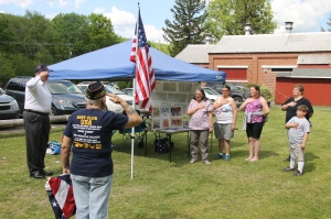 Flag Ceremony, Navy Club, USS Carbon County Ship 260, No. 9 Mine and Museum, Lansford, 5-25-2014 (7)