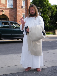 James, The Jesus Guy, visits Tamaqua, June 24, 2009 (15)
