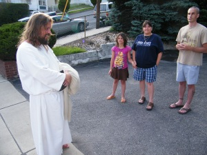 James, The Jesus Guy, visits Tamaqua, June 24, 2009 (18)