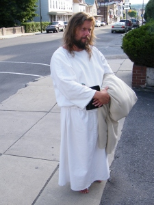 James, The Jesus Guy, visits Tamaqua, June 24, 2009 (19)