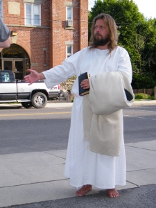 James, The Jesus Guy, visits Tamaqua, June 24, 2009, preferred 1