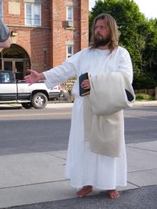 James, The Jesus Guy, visits Tamaqua, June 24, 2009, preferred 1