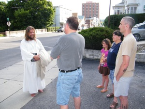 James, The Jesus Guy, visits Tamaqua, June 24, 2009, preferred 3