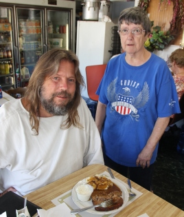 The Jesus Guy visits Tamaqua, 6-16-2014 (3)