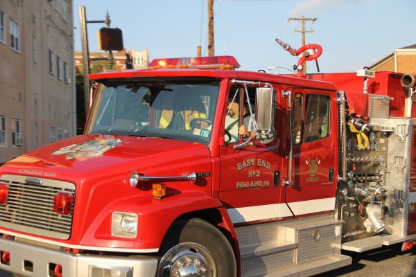 CITIZEN'S FIRE COMPANY HOLDS ANNUAL BLOCK PARTY APPARATUS PARADE