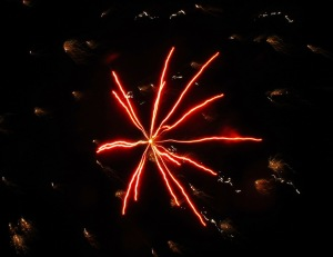 Fireworks Display, Port Carbon, 7-4-2014 (102)