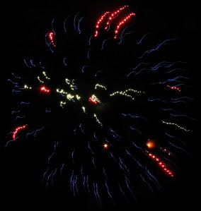 Fireworks Display, Port Carbon, 7-4-2014 (107)