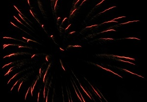 Fireworks Display, Port Carbon, 7-4-2014 (21)