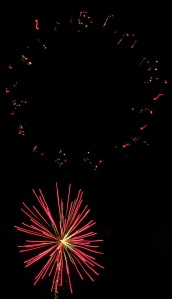 Fireworks Display, Port Carbon, 7-4-2014 (27)