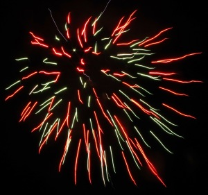 Fireworks Display, Port Carbon, 7-4-2014 (29)