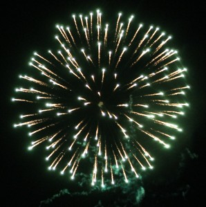 Fireworks Display, Port Carbon, 7-4-2014 (315)