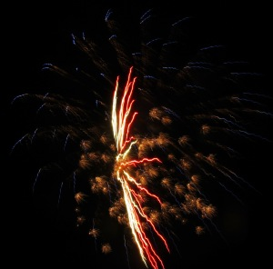 Fireworks Display, Port Carbon, 7-4-2014 (33)