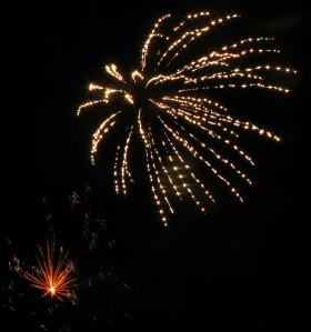 Fireworks Display, Port Carbon, 7-4-2014 (44)