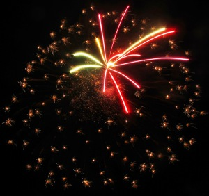 Fireworks Display, Port Carbon, 7-4-2014 (52)