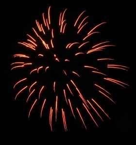 Fireworks Display, Port Carbon, 7-4-2014 (78)
