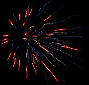 Fireworks Display, Port Carbon, 7-4-2014 (85)