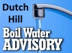 Water Boil Advisory, Dutch Hill, Tamaqua