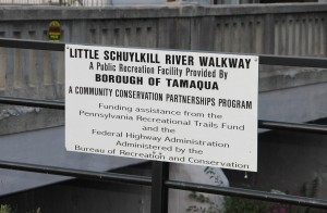 Pre Schuylkill River Cleanup, Next to Boyer's Food Market, Tamaqua, 8-7-2014 (67)