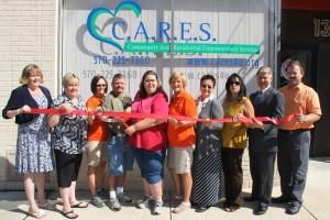 Ribbon Cutting for C.A.R.E.S., West Broad Street, Tamaqua, 8-15-2014 (10)