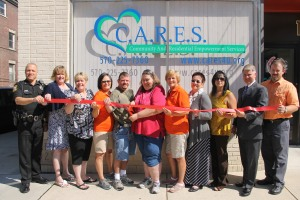 Ribbon Cutting for C.A.R.E.S., West Broad Street, Tamaqua, 8-15-2014 (24)