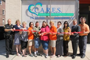 Ribbon Cutting for C.A.R.E.S., West Broad Street, Tamaqua, 8-15-2014 (25)