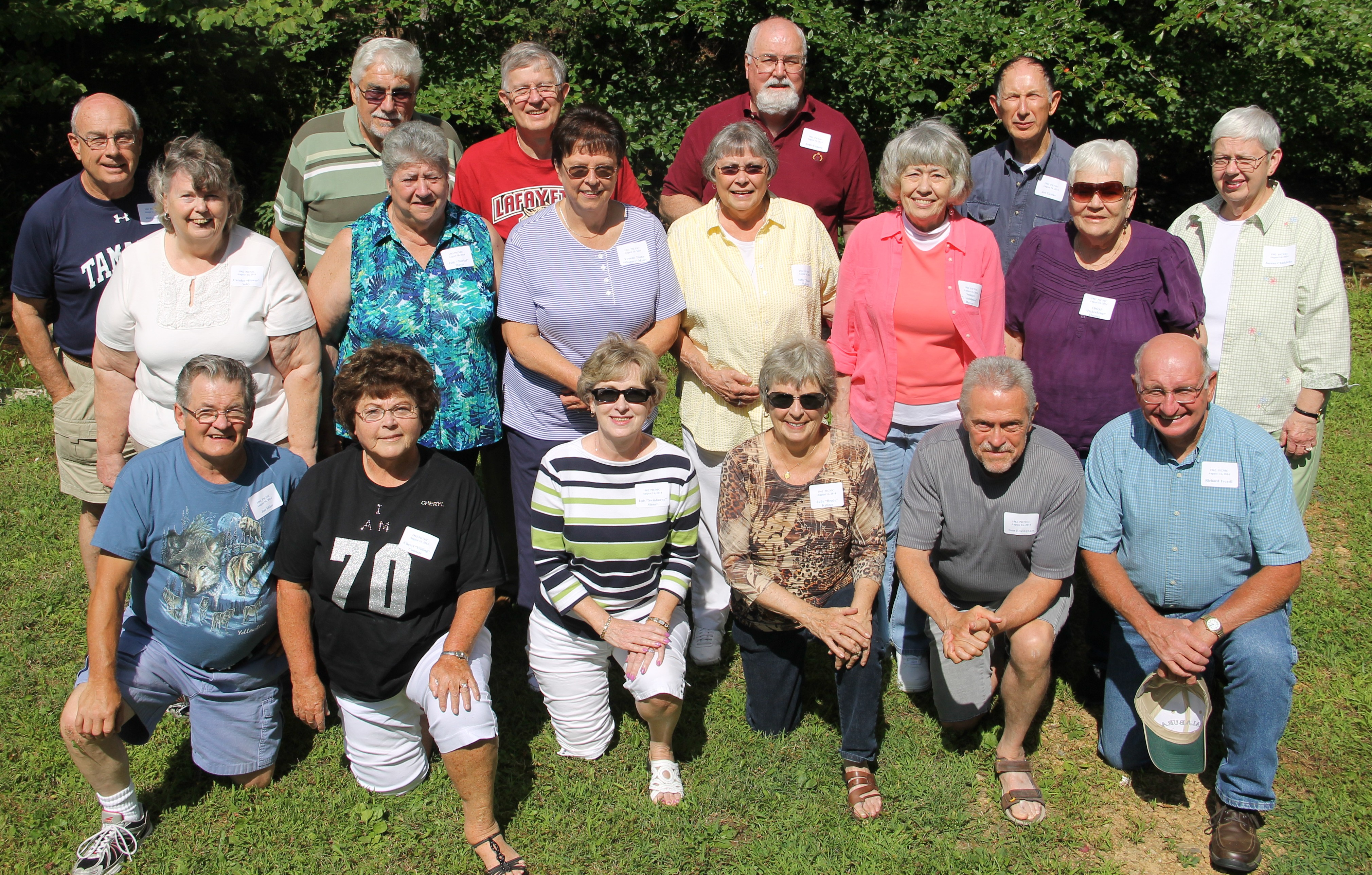 Tamaqua High School Classes Of 1962 And 1963 Hold Combined