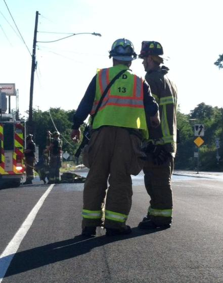 Firefighter Response, via Diane Tristani, Dimaggios, Nesquehoning 1