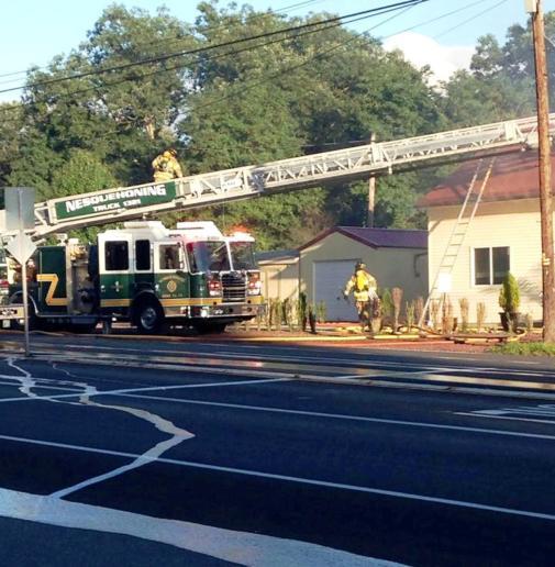Firefighter Response, via Lindsey Rose, Dimaggios, Nesquehoning 2