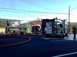 Firefighter Response, via Lindsey Rose, Dimaggios, Nesquehoning 3