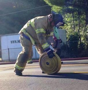 Firefighter Response, via Lindsey Rose, Dimaggios, Nesquehoning 4