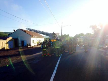 Firefighter Response, via Lindsey Rose, Dimaggios, Nesquehoning 7