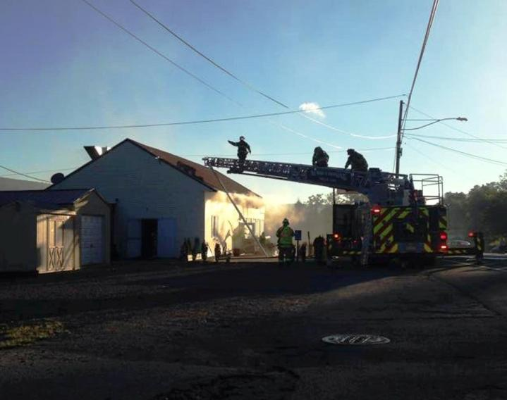 Firefighter Response, via Tori Koerbler, Dimaggios, Nesquehoning