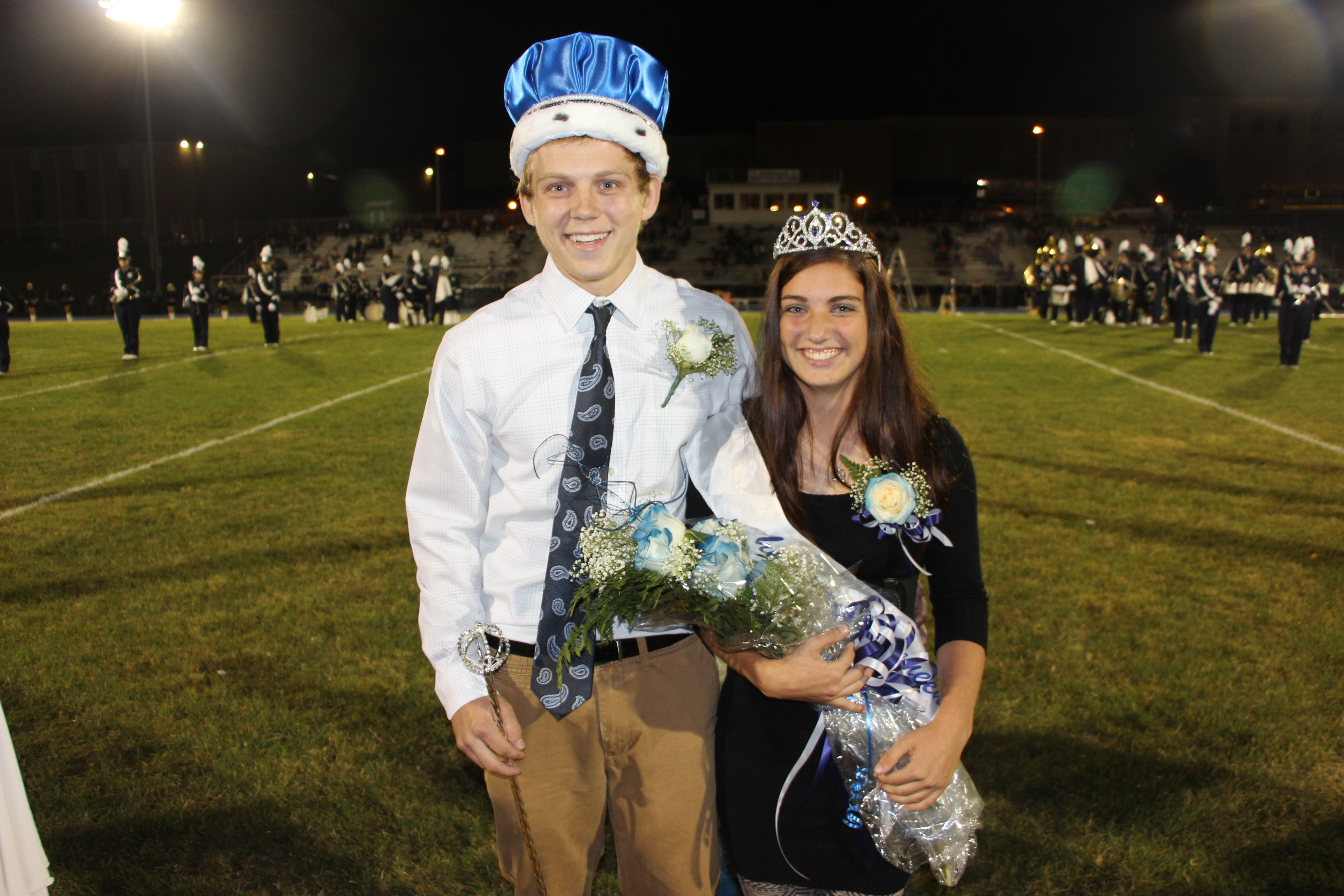tamaqua crowns 2014 homecoming king and queen