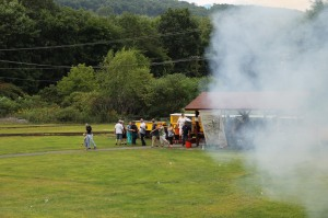 Old Fashioned Miner's Labor Day Picnic, Civil War Living Encampment, No. 9 Mine & Museum, Lansfor (56)