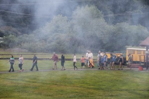 Old Fashioned Miner's Labor Day Picnic, Civil War Living Encampment, No. 9 Mine & Museum, Lansfor (63)