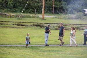 Old Fashioned Miner's Labor Day Picnic, Civil War Living Encampment, No. 9 Mine & Museum, Lansfor (67)