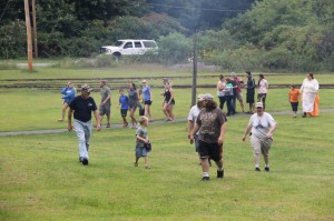 Old Fashioned Miner's Labor Day Picnic, Civil War Living Encampment, No. 9 Mine & Museum, Lansfor (69)