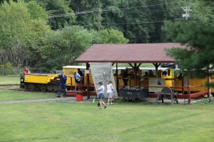 Old Fashioned Miner's Labor Day Picnic, Civil War Living Encampment, No. 9 Mine & Museum, Lansfor (7)