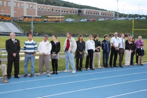 Tamaqua Athletic Hall of Fame Induction Ceremony, Sports Stadium, Tamaqua, 9-19-2014 (16)