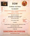 10-19-2014, Chinese Auction, Salvation Army, Tamaqua