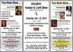 11-22-2014, Free Music Show, Holiday Vendor and Craft Show, Community Arts Center, Tamaqua (COMBINED)