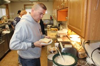 All You Can Eat Breakfast, American Legion, Tamaqua, 11-16-2014 (12)