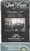 12-13-2014, Bach and Handel Chorale at TCAC on Dec. 13