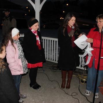 Tree Lighting, Santa, Lansford Alive, Kennedy Park, Lansford, 11-29-2014 (1)