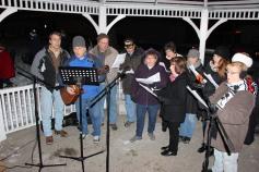 Tree Lighting, Santa, Lansford Alive, Kennedy Park, Lansford, 11-29-2014 (111)