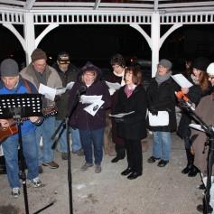 Tree Lighting, Santa, Lansford Alive, Kennedy Park, Lansford, 11-29-2014 (150)