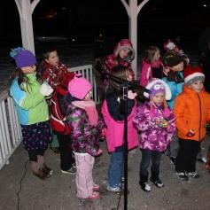 Tree Lighting, Santa, Lansford Alive, Kennedy Park, Lansford, 11-29-2014 (152)