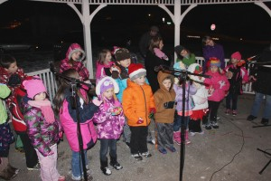 Tree Lighting, Santa, Lansford Alive, Kennedy Park, Lansford, 11-29-2014 (153)