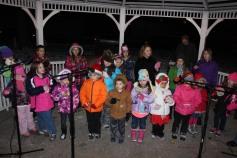 Tree Lighting, Santa, Lansford Alive, Kennedy Park, Lansford, 11-29-2014 (154)